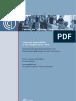 Corporate Responsibility in Der Akademischen Lehre