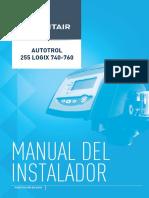 Manual Instalador.autotrol255logix740-760 Im a Es