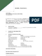 Formato de Informe a Juzgado Exps
