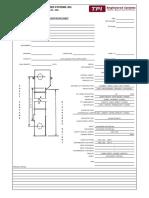 Bucket Elevator Data Sheet