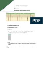 Taller Teórico Sobre Excel