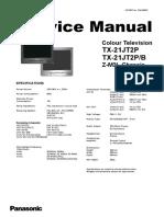 Panasonic TX-21JT2P, TX-21JT2P-B (Chassis Z-M3L) (Service Manual).pdf