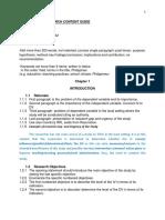 Quantitative Research Content