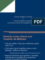 Ciencia Jurídica Normal y Ciencia Jurídica Exquisita