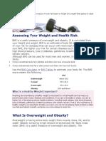 Body mass index.docx