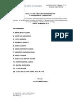 Rezultate Verificare Administrativă (1)