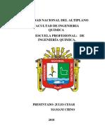 Curtiembre Universidad Nacional Del Altiplano