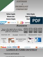 Software Companies