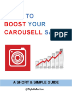 8 Tips to BOOST Your Carousell Sales by Styletisfaction