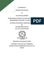 foreign exchange ICICI.docx