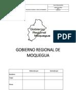 Gobierno Regional de Moquegua Pam Frayles