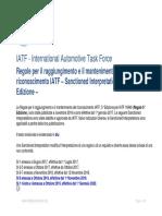 IATF Rules 5th Edition Sanctioned Interpretations October 2019 IT
