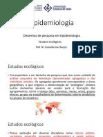 Epidemiologia - Aula 08