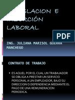 Clases de legislacion laboral