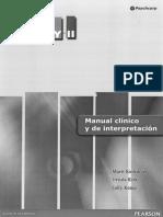 Manual Clinico y de Interpretacion NEPSY II