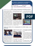 Proyecto BOL/J39 - El Alto - UNODC Boletín Nº 7