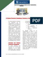 Lectura Principal Sistema Financiero en Colombia