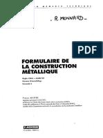 Dokumen.tips Charpente Pierre Maitre Formulaire de La Construction Metallique Ed Lemoniteur