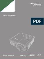 En User Guide Optoma ML750ST