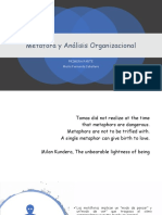 METÁFORAS DE LA ORGANIZACION