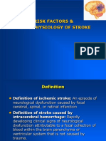 Risk Factors and Pathophysiology of Stroke [Compatibility Mode] [Repaired]