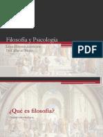 FIL3HC -U0 04- Psicología y Ciencias Filosóficas
