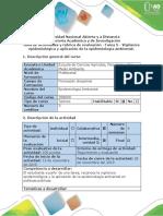 Guía de Actividades y Rúbrica de Evaluación - Tarea 5 - Vigilancia Epidemiológica y Aplicación de La Epidemiología Ambiental