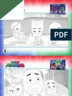 PJ Masks Activity Sheets