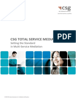 CSG TotalServiceMediation Brochure