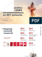 D1T2 - Bypassing GSMA Recommendations on SS7 Networks - Kirill Puzankov