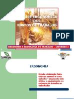 ERGONOMIA E SEGURANÇA DO TRABALHO UNIV-3