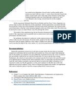 Conclusion, Recommendatio and Apendix