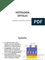 HISTOLOGIA epitelio