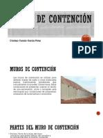 MUROS DE CONTENCION