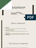 Ppt Bab 12 Leadership