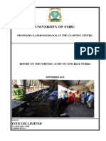 Report on Concrete Forensic Audit Sept 2019