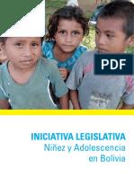 Iniciativa Legislativa Ninez y Adolescencia en Bolivia