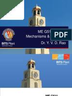 ME G511 Lect 22 Static Analysis Nov 2018