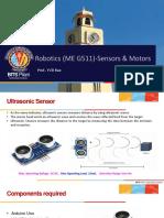 ExPt 4 Ultra Sonic Sensor