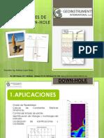 APLICACIONES DE METODO DOWN-HOLE