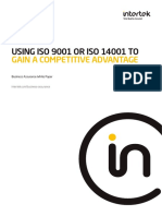 Whitepaper_Using ISO 9001 or ISO 14001 to Gain Competitive Advantage