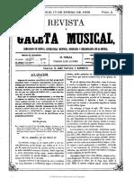 Gaceta Musical