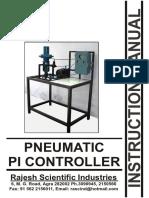 Pneumatic PI Controller