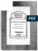 Mack and Mabel - Complete Libretto