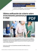 Última Unificación de Criterio Sobre El Incremento Pensional Por Persona a Cargo _ Noticias Jurídicas y Análisis de Nuevas Leyes AMBITOJURIDICO.com