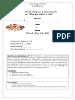 Evaluación de Lenguaje y Comunicación Lectura Complementaria Junio
