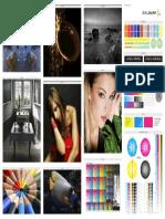 Test de prueba impresoras a color