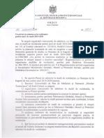 Ordinul MSMPS Nr.1197 Și Planul de Admitere La Studii În Rezidențiat, 2019