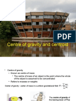 Chapter 5 Centre of gravity