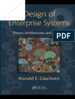 Giachetti, Ronald E. - Design of Enterprise Systems _ Theory, Architecture, And Methods (2010, CRC Press)